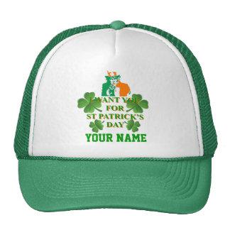 Irish American , St Patrick's day Mesh Hats