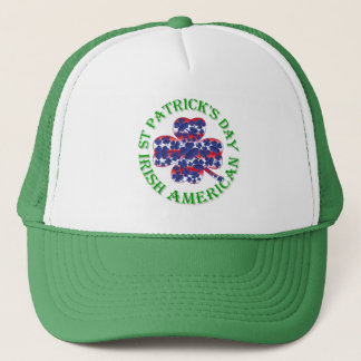 Irish American St Patrick's day Trucker Hat