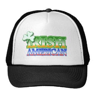 Irish American St Patrick's Shamrock Design Cap
