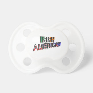 Irish-American Text for BooginHead-Pacifier Dummy
