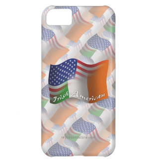 Irish-American Waving Flag iPhone 5C Case