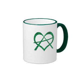 Irish Anarchy Heart Symbol Gift Mug