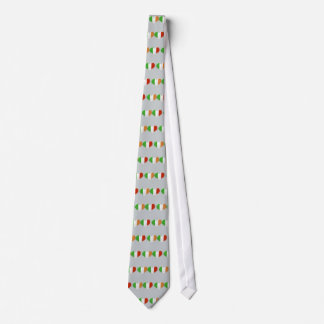 Irish and Italian Heart Flags Tie