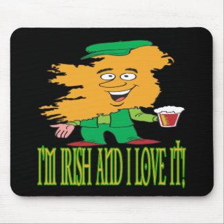 Irish And Love It Mouse Pad