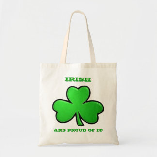 Irish and Proud of It Budget Tote Bag