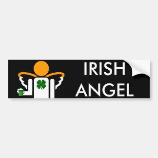irish angel car bumper sticker