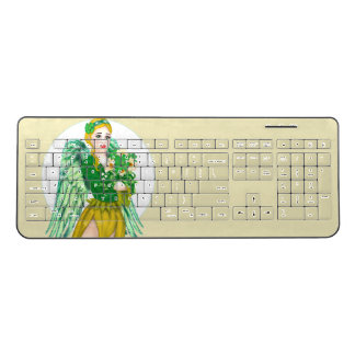 IRISH ANGEL Custom Wireless Keyboard 2