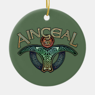 Irish Angel Pendant/Ornament Christmas Ornament