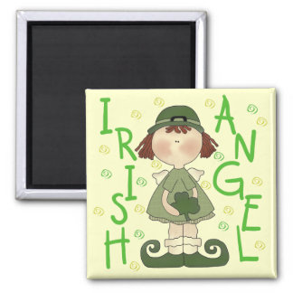 Irish Angel T-shirts and Gifts Square Magnet