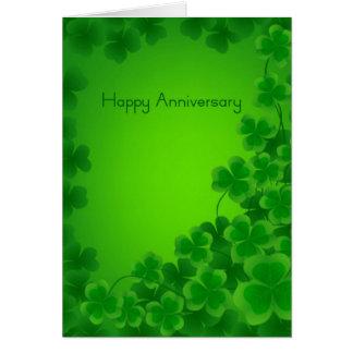 Irish Anniversary card