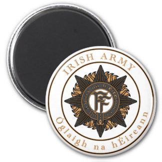 Irish Army 6 Cm Round Magnet