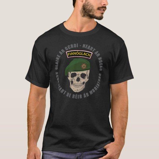 Irish Army Rangers Skull T-Shirt