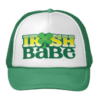 IRISH BABE! cute with a shamrock Cap