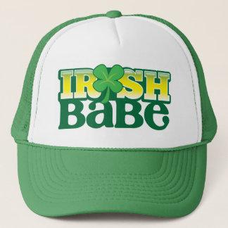 IRISH BABE! cute with a shamrock Trucker Hat