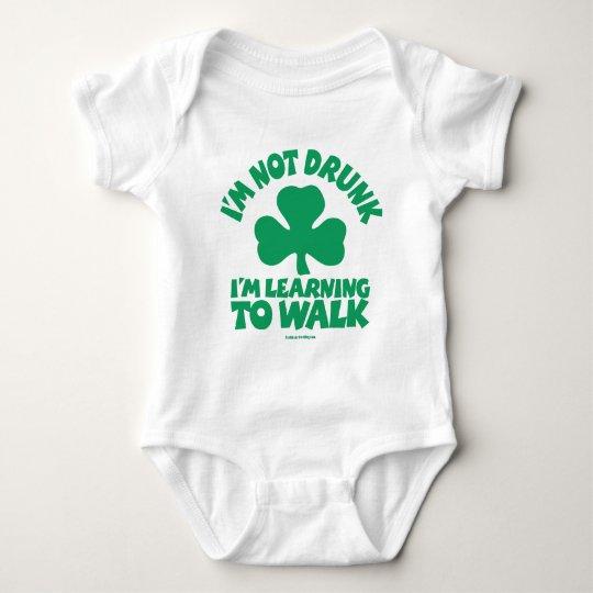 Irish Baby - I'm not drunk Baby Bodysuit