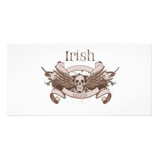 Irish Badass Photo Card