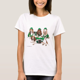 Irish Basset hound quartet T-Shirt