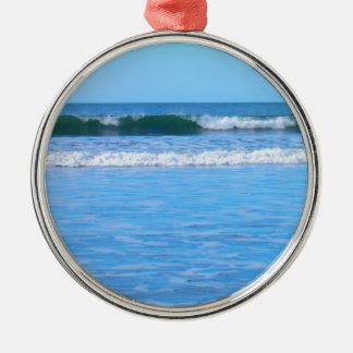 Irish Beach Christmas Ornament