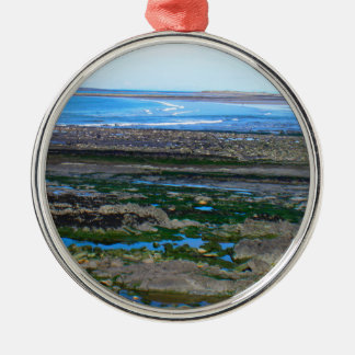 Irish Beach Christmas Ornament