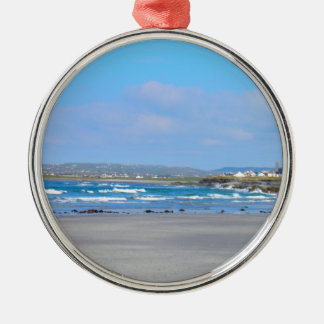 Irish beachs christmas ornament