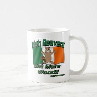 Irish Beavers Get More Wood Coffee Mug