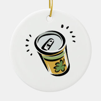 Irish Beer Christmas Ornament