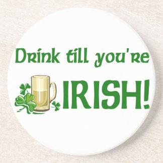 Irish Beer Drinking coasters