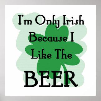 Irish beer posters