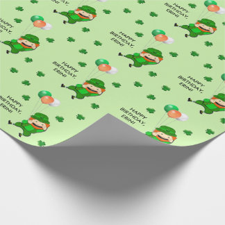 Irish Birthday Wrapping Paper