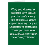 Irish Blessing 1 Stationery Note Card