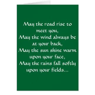 Irish Blessing 2 Card