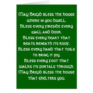 Irish Blessing 6 Note Card