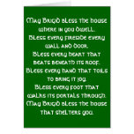 Irish Blessing 6 Stationery Note Card