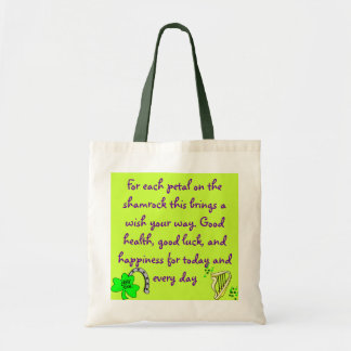 Irish Blessing bag