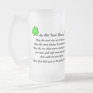 Irish Blessing Beer Mug
