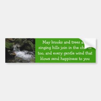Irish blessing bumper sticker