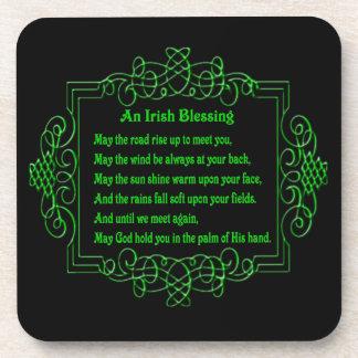 Irish Blessing Coasters