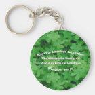 Irish Blessing Key Ring