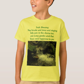 Irish blessing kids shirt