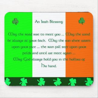 Irish Blessing Mouse Mats