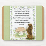 Irish Blessing Of The Dogs Mouse Pad
