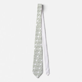 Irish Blessing Shamrock2 Tie