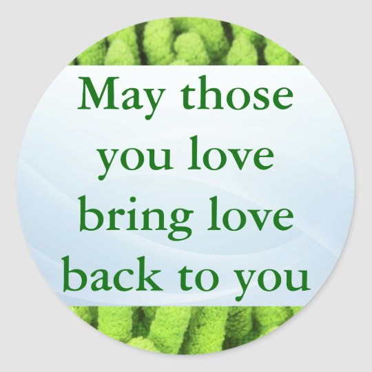 Irish Blessing stickers