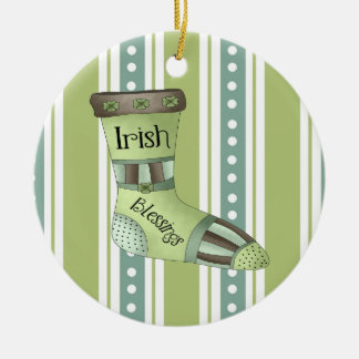 Irish Blessings Christmas Ornament