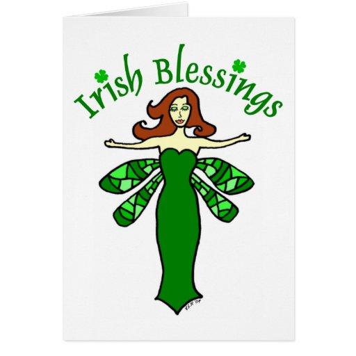 Irish Blessings Fairy St. Patrick's Day Card