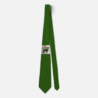 Irish Boston Terrier Neck Tie