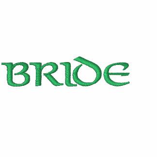 Irish Bride Fleece Zip Up Hoodie