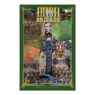 Irish Brigade Civil War 150 Poster