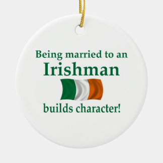 Irish Builds Character Christmas Ornament