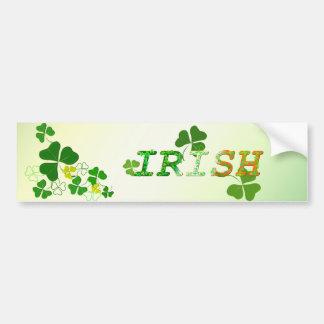 Irish Car Bumper Sticker